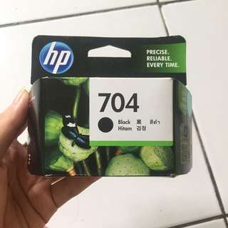 Tinta Printer HP 704 Black