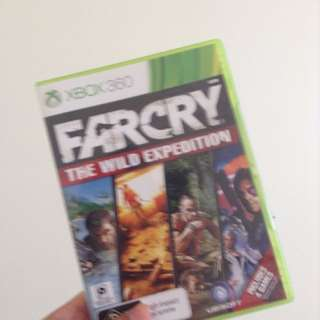 Farcry The Wild Expedition Xbox 360