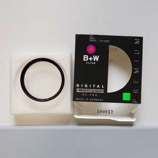 Like New B+W 58mm MRC Nano XS-Pro Filter