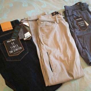 3 Tech pants - stretch, anti-odor, breathable #H&M50
