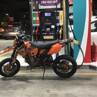 Ktm 400 super powerful bike unlight normal 400