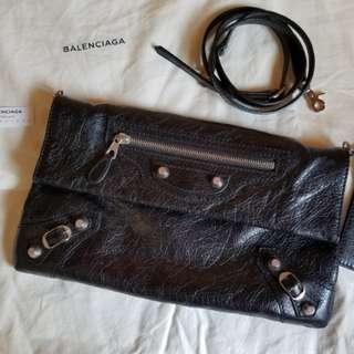 99%new Balenciaga crossbody bag clutch巴黎世家斜咩袋