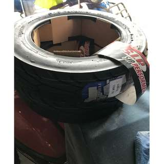 Brand new sip tyres for classic vespa 10""