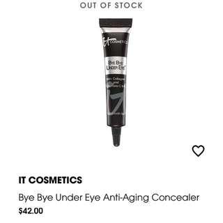 IT Cosmetics Bye Bye Under Eye Anti-aging Concealer (Fair)