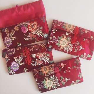 DIY 織錦利是袋