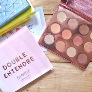 Authentic Colourpop Double Entendre Eyeshadow Palette