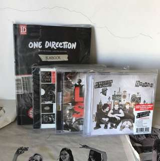 ONE DIRECTION 5SOS TAKE ME HOME LIVESOS BEST SONG EVER AMNESIA CD