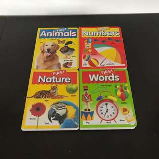 """Babys """"first"""" Words Books"""
