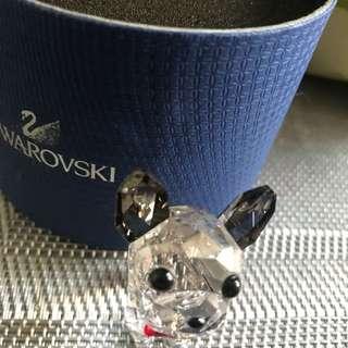 Swarovski 狗狗水晶擺設