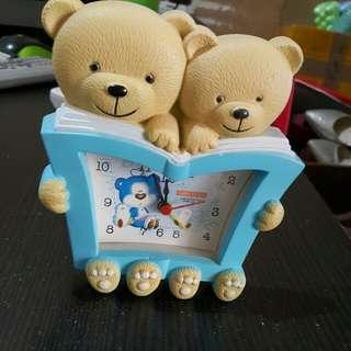 Jam weker mini teddy