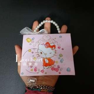 🚚 現貨實拍 泰國kitty珍珠手提盒造型糖果