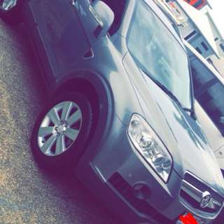 2010 holden Captiva low kms