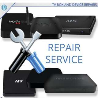 Android Tv Box repair and update service