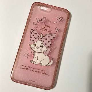 Iphone6/6s Disney Marie Pink Soft Case 粉紅色軟膠電話殼