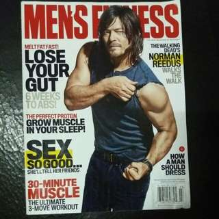 Norman Reedus | Men's Fitness March 2016