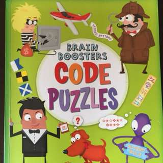 <<Brain Booster: Code Puzzles>> (Just bought one week ago)
