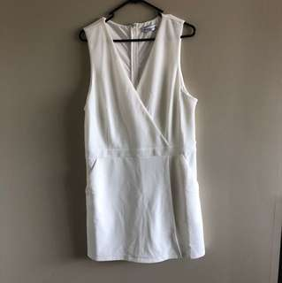 White Playsuit - Atmos & Here
