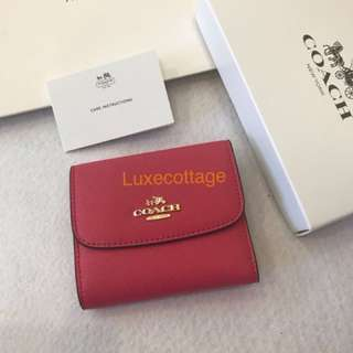 Ready Stock Authentic Coach women wallet Coin bag purse