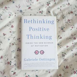 Rethinking Positive Thinking ( English ) Import