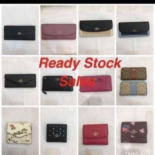 Authentic Coach Wallet purse Pouch purse Coin bag wristlets