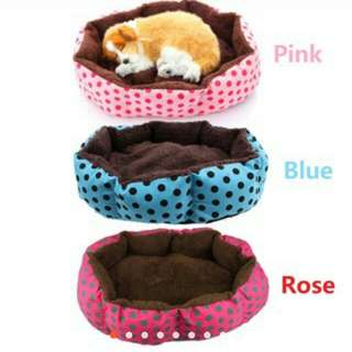 Soft cotton pet dog puppy cat warm bed house accessories