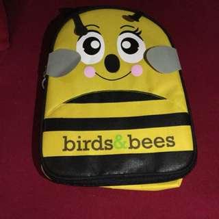 Tas bayi anak motif lebah