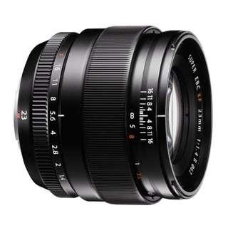 Fujifilm 23mm F1.4