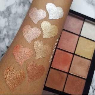 Makeup Revolution Ultra Pro Glow 2 Highlighting Palette