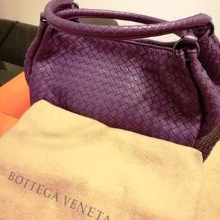 Bottega Veneta Parachute bag in Barolo interracial nappa
