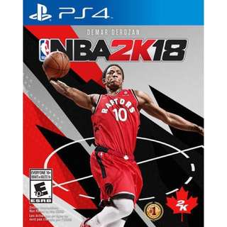 LOOKING FOR Either Console Nba 2k18