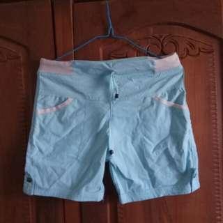 Pants Light Blue Parasut