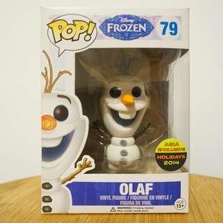 Funko Exclusive Flocked Olaf