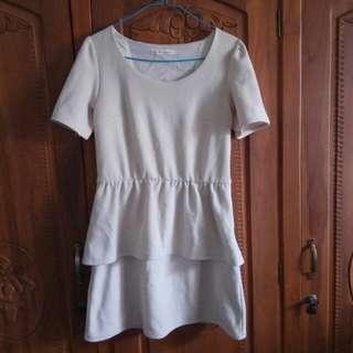 Mini Dress Krem