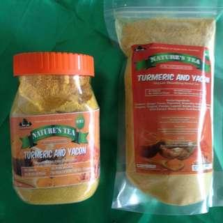 Turmeric & Yakon tea 400g