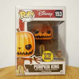 Funko Exclusive GITD Pumpkin King