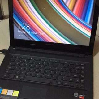 Used Lenovo laptop 2 years old