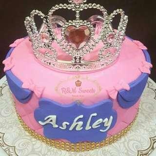 Customize Fondant Cake
