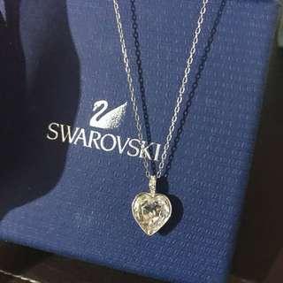 Swarovski心型吊墜頸鏈