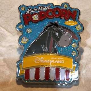 迪士尼 徽章 DISNEY PIN POPCORN PRETZELS 系列 EEYORE