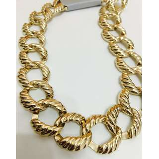 NEW MOOD by John Richard gold chain necklace