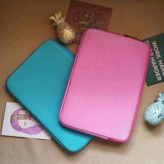 Macbook Air 11 inch Laptop Sleeves Pink and Blue