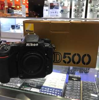 Nikon D500 Body *SHUTTER COUNT 3K