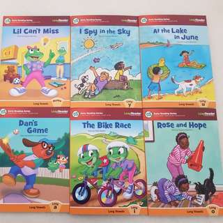 Leapfrog tag reader- Learn to read 2 (6-books)