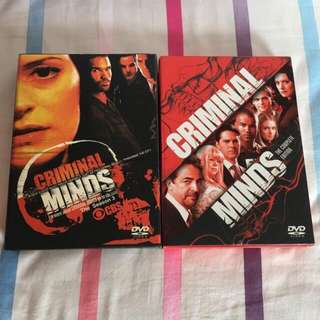 Criminal Minds Seasons 3 &5