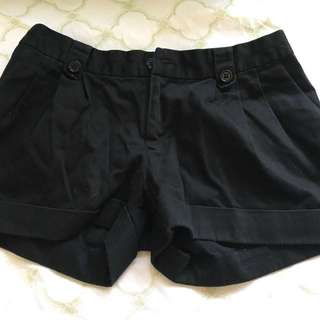 Folded & Hung Black Shorts