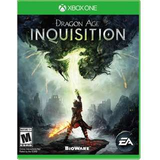 XBOX ONE DRAGON AGE INQUSITION
