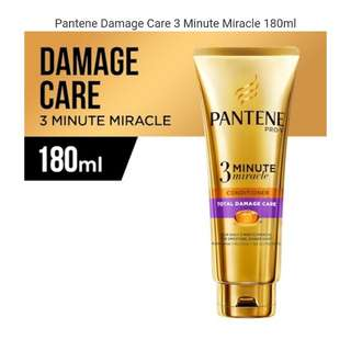 Pantene Damage Care 3MM 180ml / FREE:2 x SNP Mask