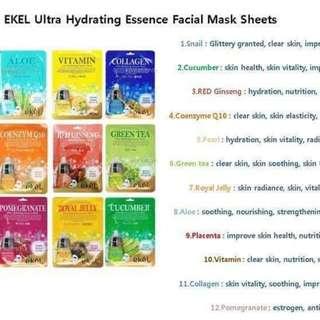 Face Masks from Korea!!!