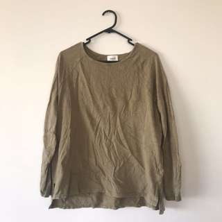 SIZE XS SEED LS TOP