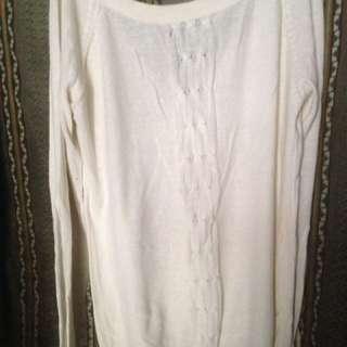 Sweater gaudi broken white